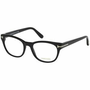 Tom Ford Eyeglasses Black W/Crystal Lens